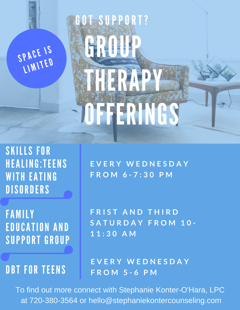 Group Therapy Flyer