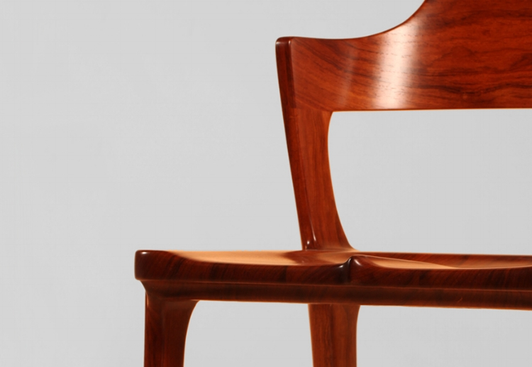 Cocobolo Danish Modern Chair