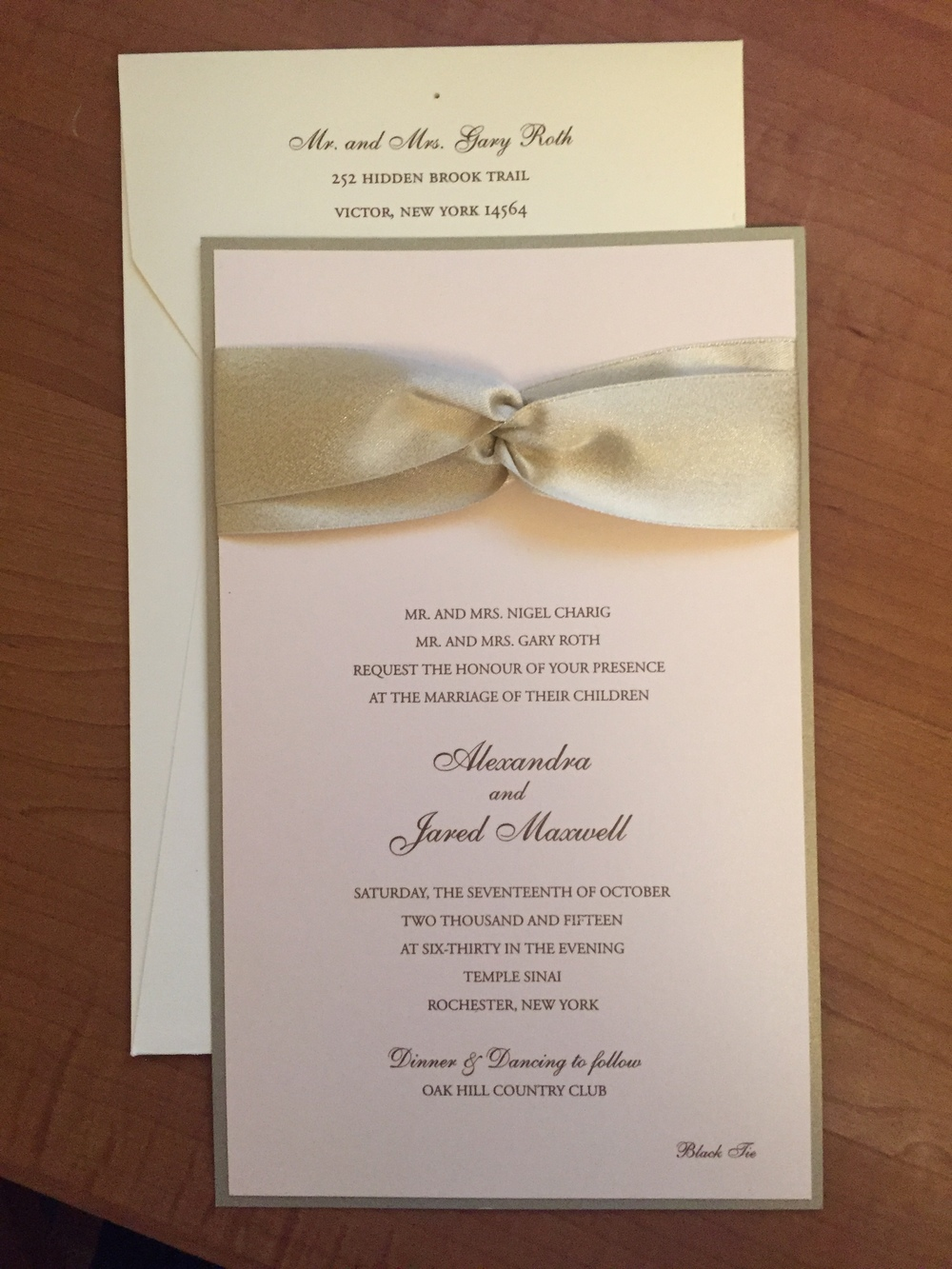 Invitations Etc. Is A Home Based Enterprise Bringing The Latest Styles And  Trends In Invitations And Personalized Papers To Rochester, New York.