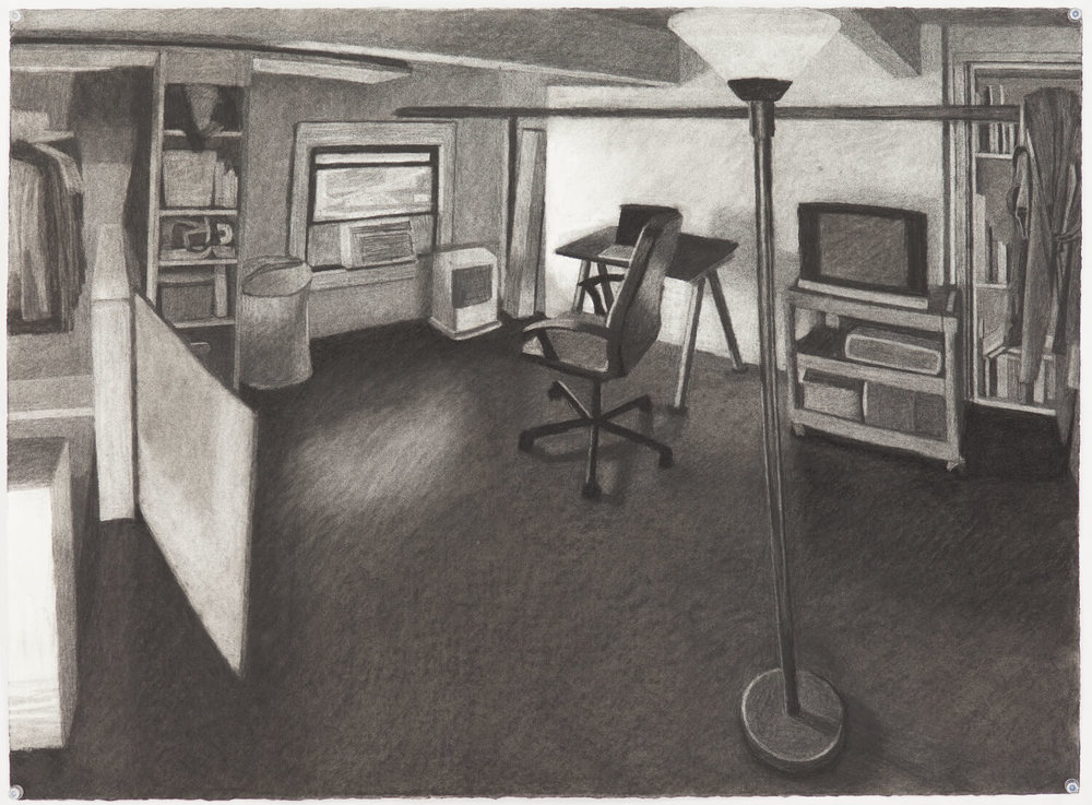 Study for Brooklyn Loft Bedroom #2