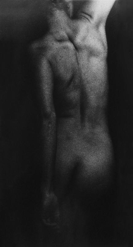 Rituels ( Le corps ) n˚ 2  Épreuve à la gélatine argentique  51 x 41 cm