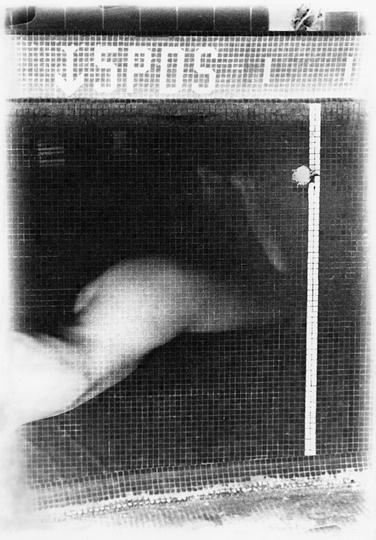 Rituels ( Le lieu ) n˚ 5  Épreuve à la gélatine argentique  25 x 20 cm