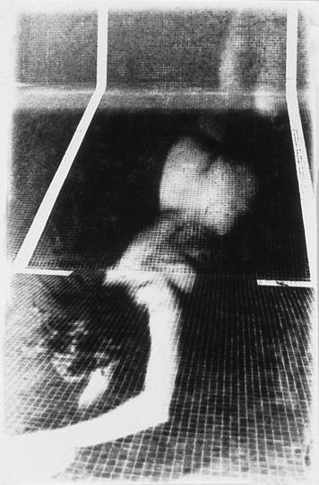 Rituels ( Le lieu ) n˚ 9  Épreuve à la gélatine argentique  25 x 20 cm