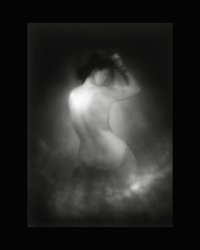 Obscures ( I )  Épreuve à la gélatine argentique  36 x 28 cm