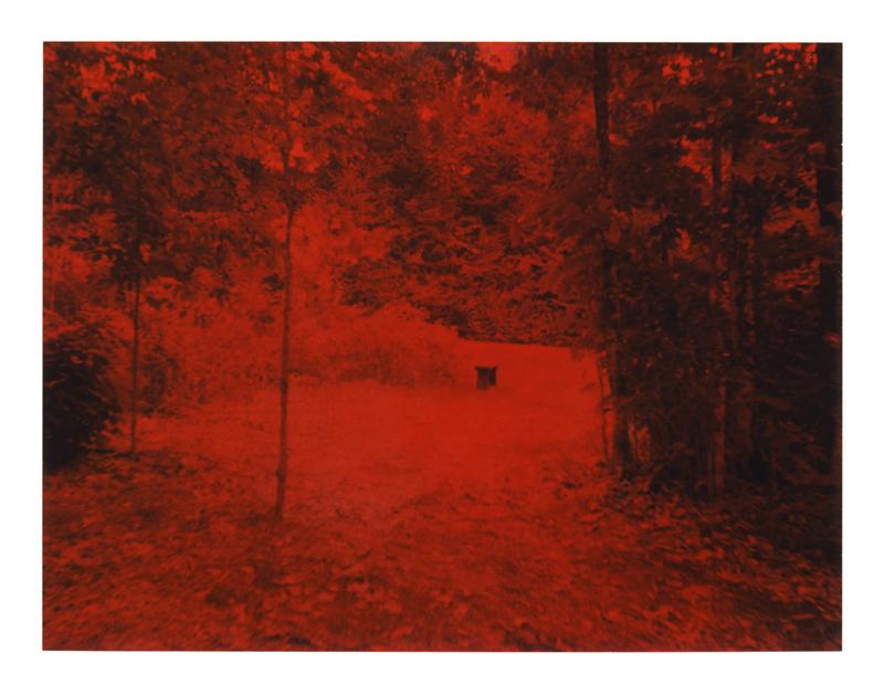 Polaroid, banc Vendée  2007, polaroid film 690  8.5 x 10.8 cm