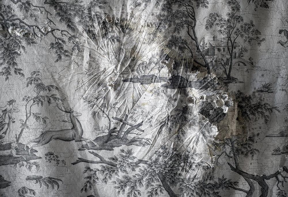 Nightlife (scène de chasse, Ste-Famille)  impression au jet d'encre  53 x 73 cm