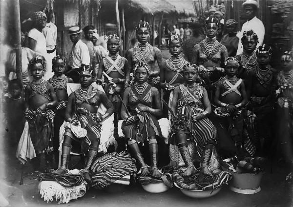 Elder Moses Jensen tribal people. Kru ethnic group in Liberia