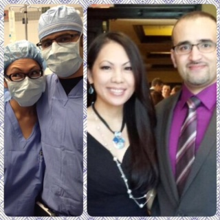 Me & my wonderful co-resident Dr. Mahmoud Salem...like brother & sister, we had a ton of fun in our residency adventures. Couldn't have asked for a better supporter.
