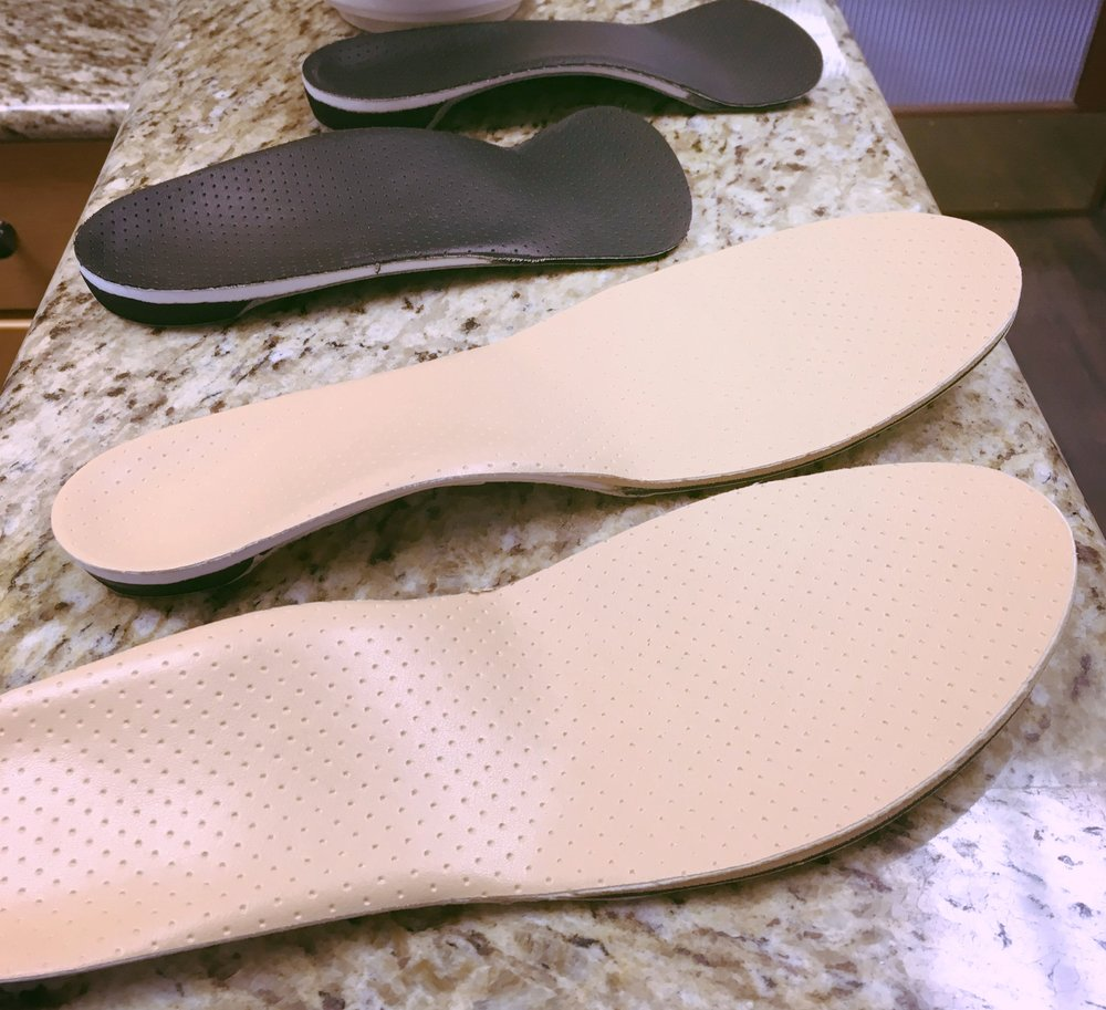 Custom orthotics come in a variety of styles and are custom designed to suit your foot and ankle condition