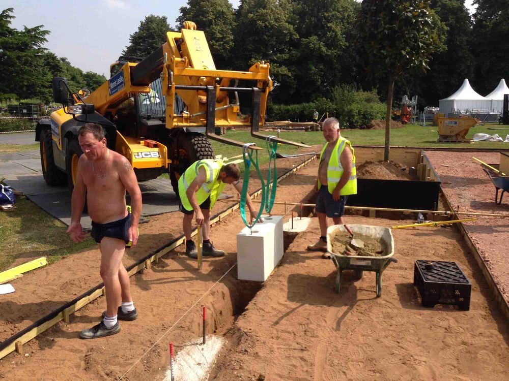 Jack Dunckley Hampton Court 2014 The Italian Job The Creation Process - 11.jpg
