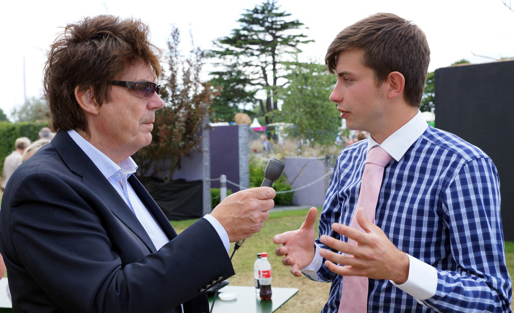 Mike Reid (Radio Berkshire) with Jack