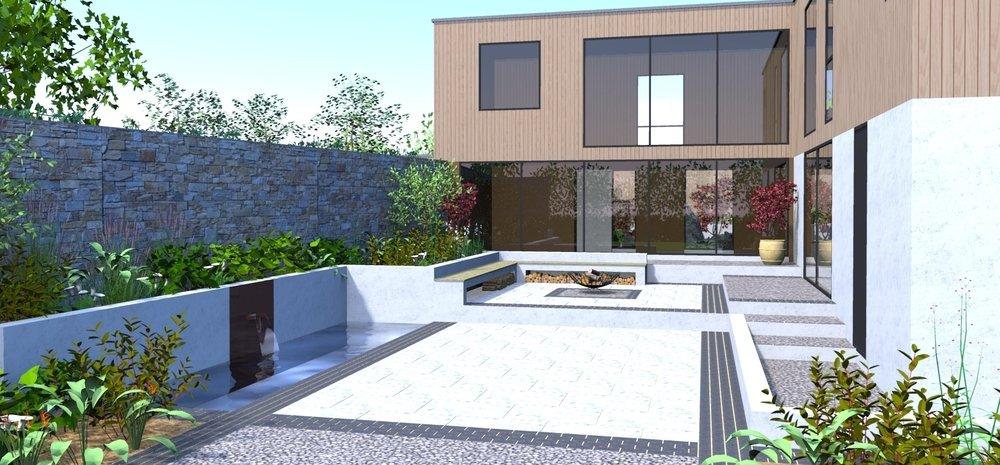 Ultramodern Garden