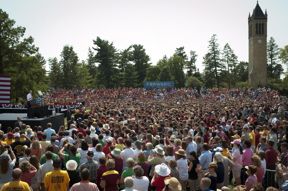 Obama 2012 at ISU