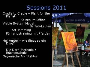Sessionplanung WBC 2011