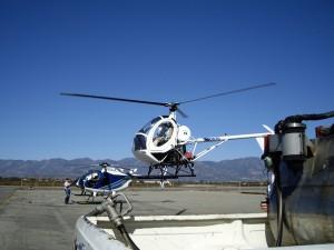 MD 500 und Hughes 300