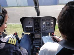 Arbeitsplatz Cockpit