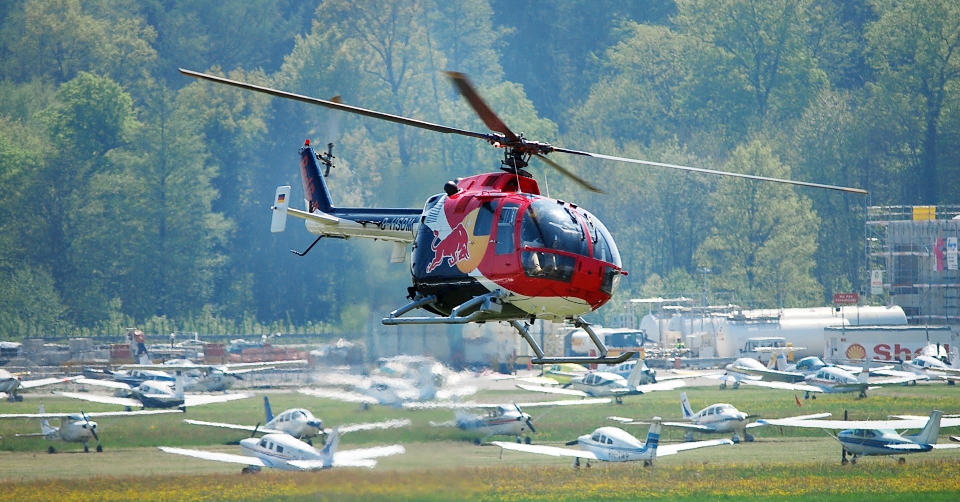Helikopter auf der AERO 2009