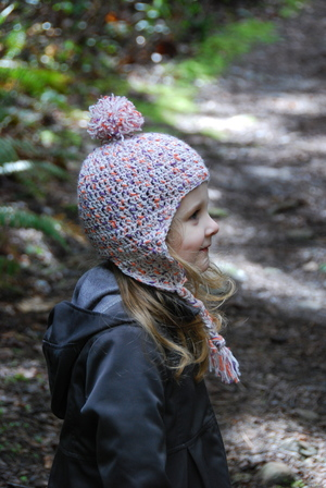 Cutest Crochet Earflap Hat