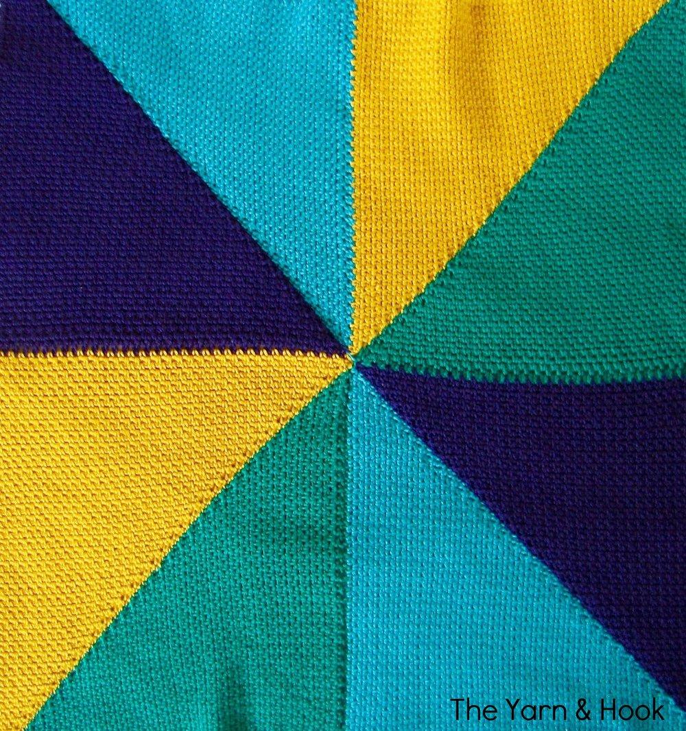 Pinwheel Baby Blanket