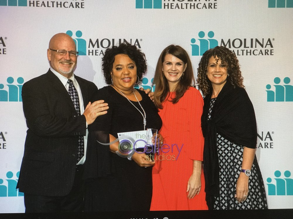 Molina Health care Community Champion awards dinner