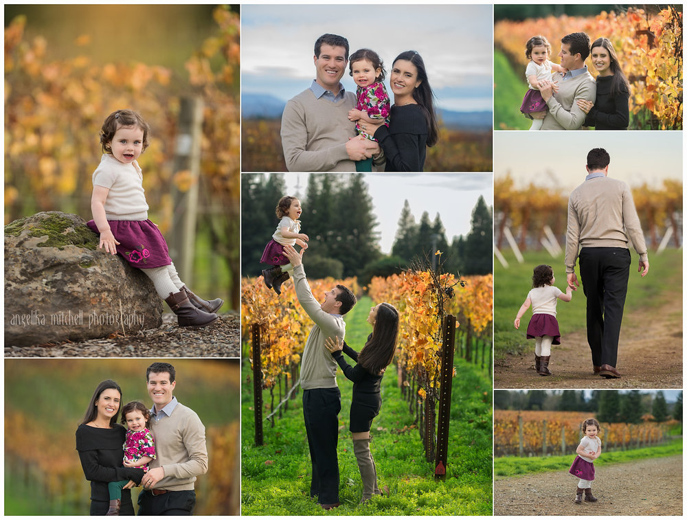 Sebastopol Vineyard Family Photos- Angelika Mitchell Photography