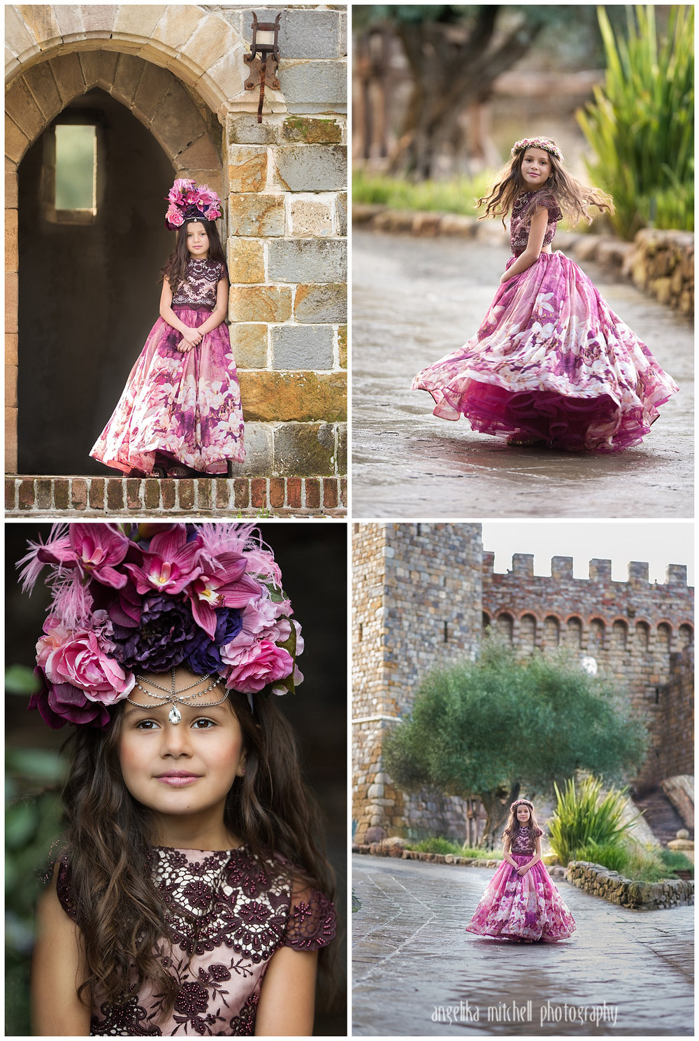 Princess Session Angelika Mitchell Photography Sonoma County California