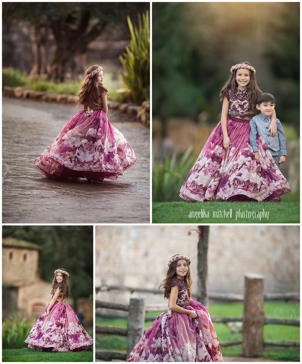 Princess Photo Shoot- Angelika Mitchell Photography- Sonoma County