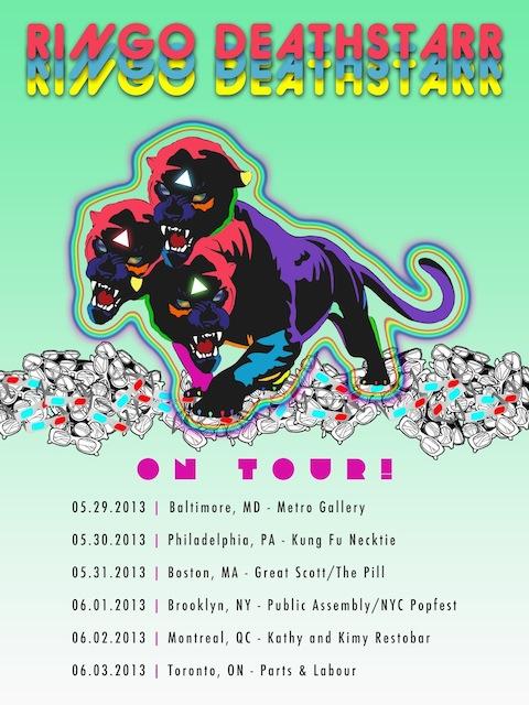 """Ringo Deathstarr, """"Mauve"""" Tour 2013"""