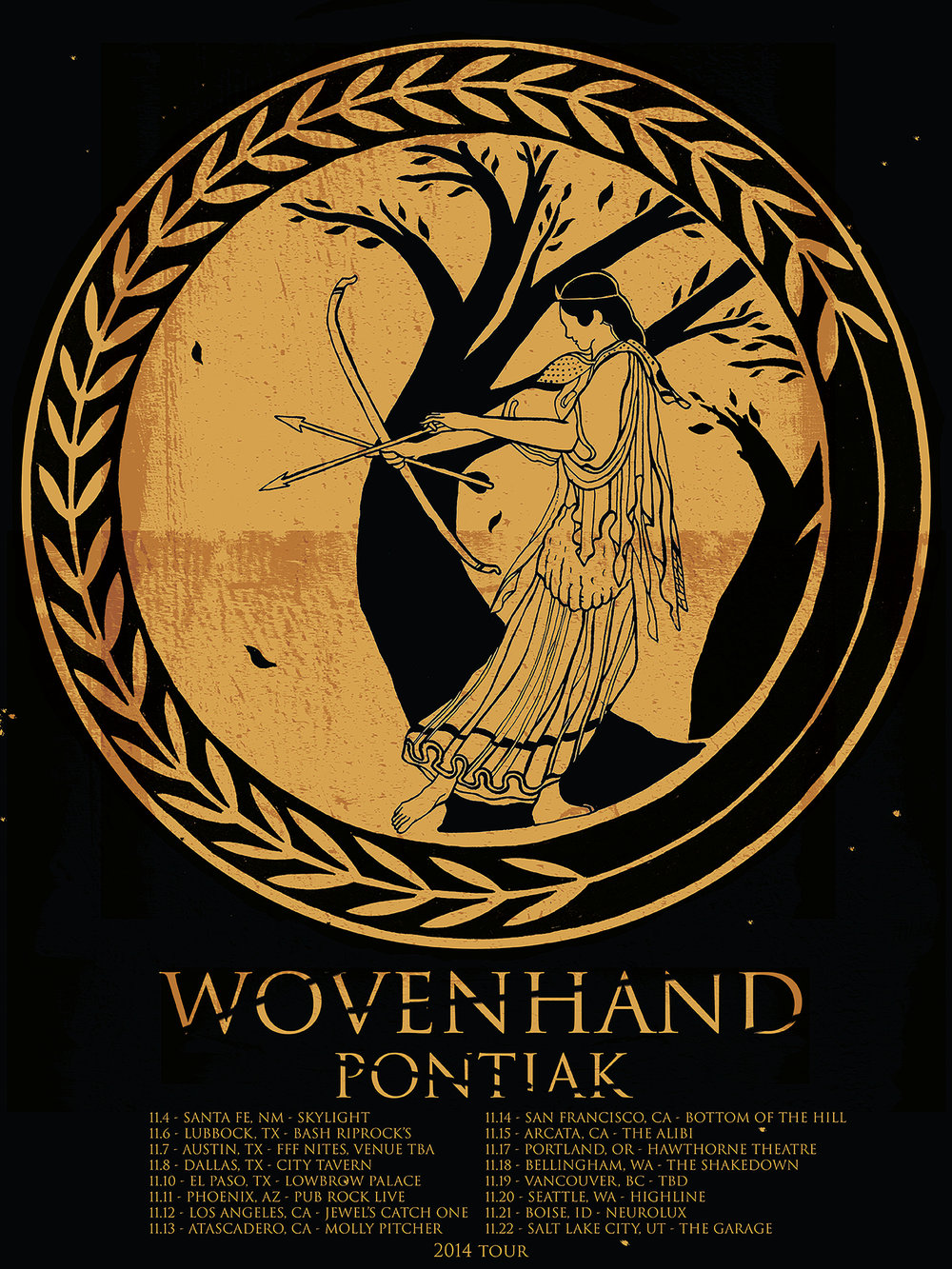 "Wovenhand, ""Refractory Obdurate"" Tour 2014"