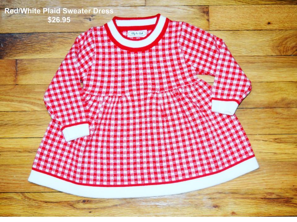 Red%2FWhite Plaid Sweater Dress.jpg