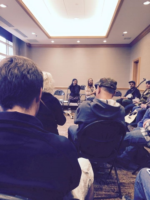 Wintergrass Songwriting Workshop in Seattle, Washington