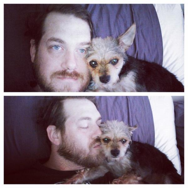 Fox's husband & Oskar Wild