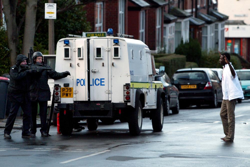 Armed Arrest, Leeds.