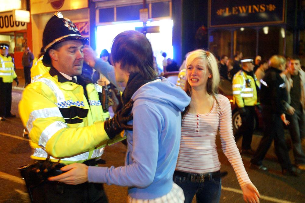 Nightclub raid, Halifax.