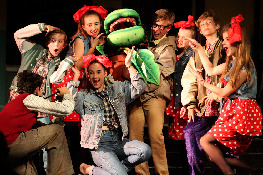 Little Shop of Horrors performance.