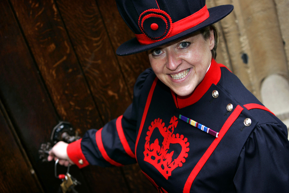 First female Beefeater.