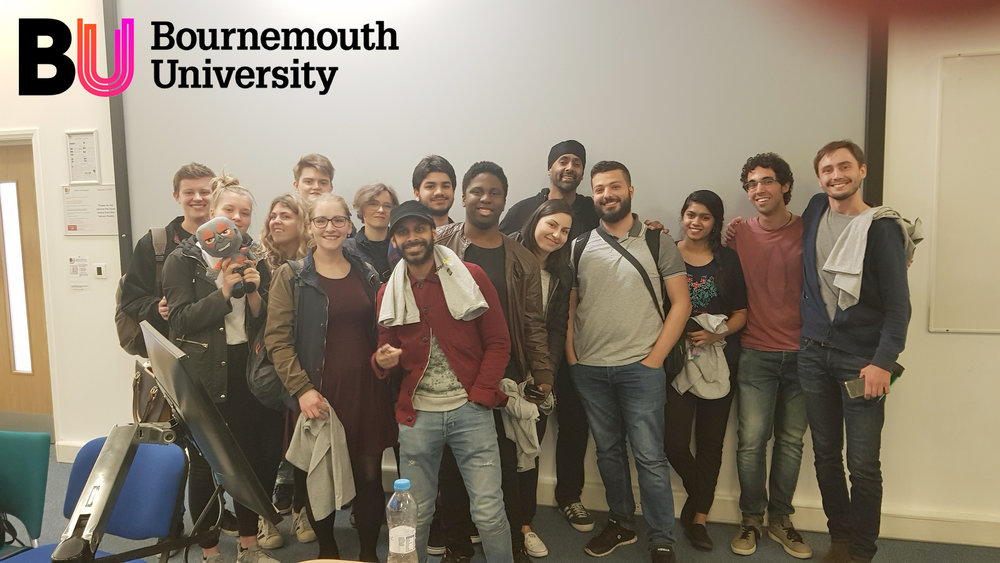 University Of Bournemouth (NCCA) - Animation & Games Industry (18/05/2018)