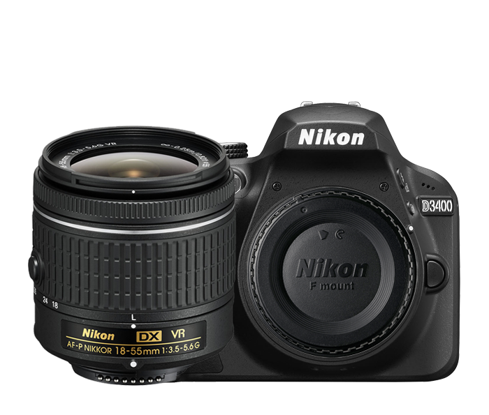 Nikon D3400 [Source: Amazon]