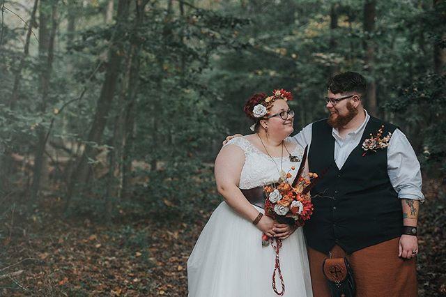 Ren-fair vibe-outdoor wedding / lxc