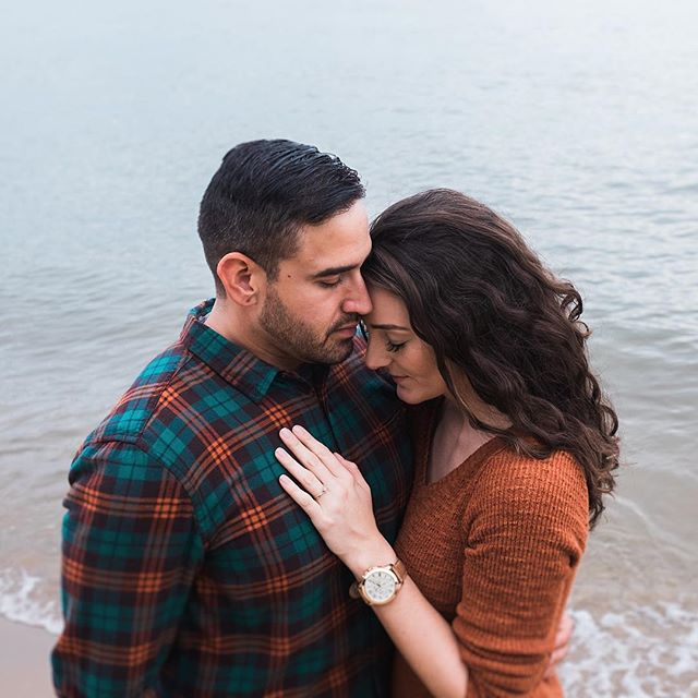 This military couple did an amazing job at their engagement session.