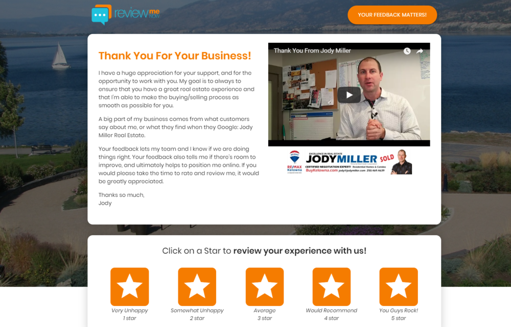 Click on The Image to Be Taken To Jody's  Review Portal Page