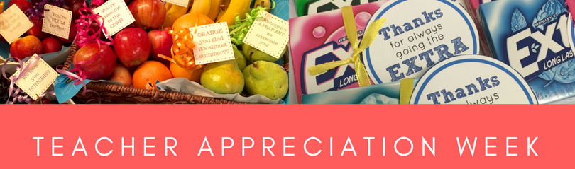 TEACHER APPRECIATION WEEKE JUNE 4th-8th