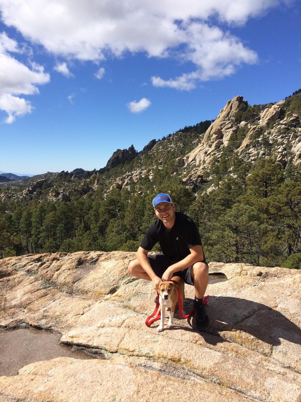 The Pumps first long-distance hike | Mount Lemmon, Tucson, AZ