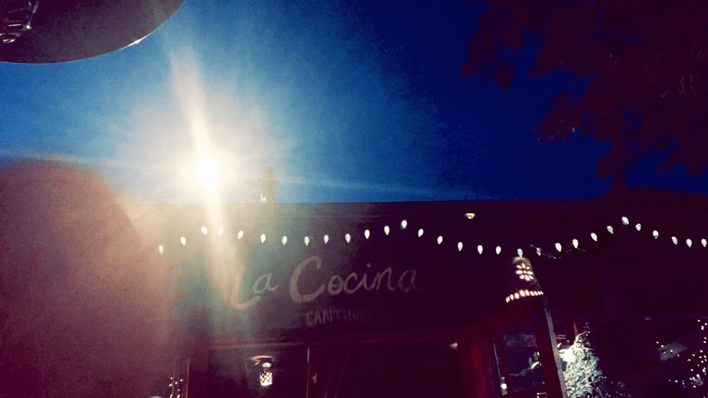 Evening time on the patio | La Cocina Tucson, AZ