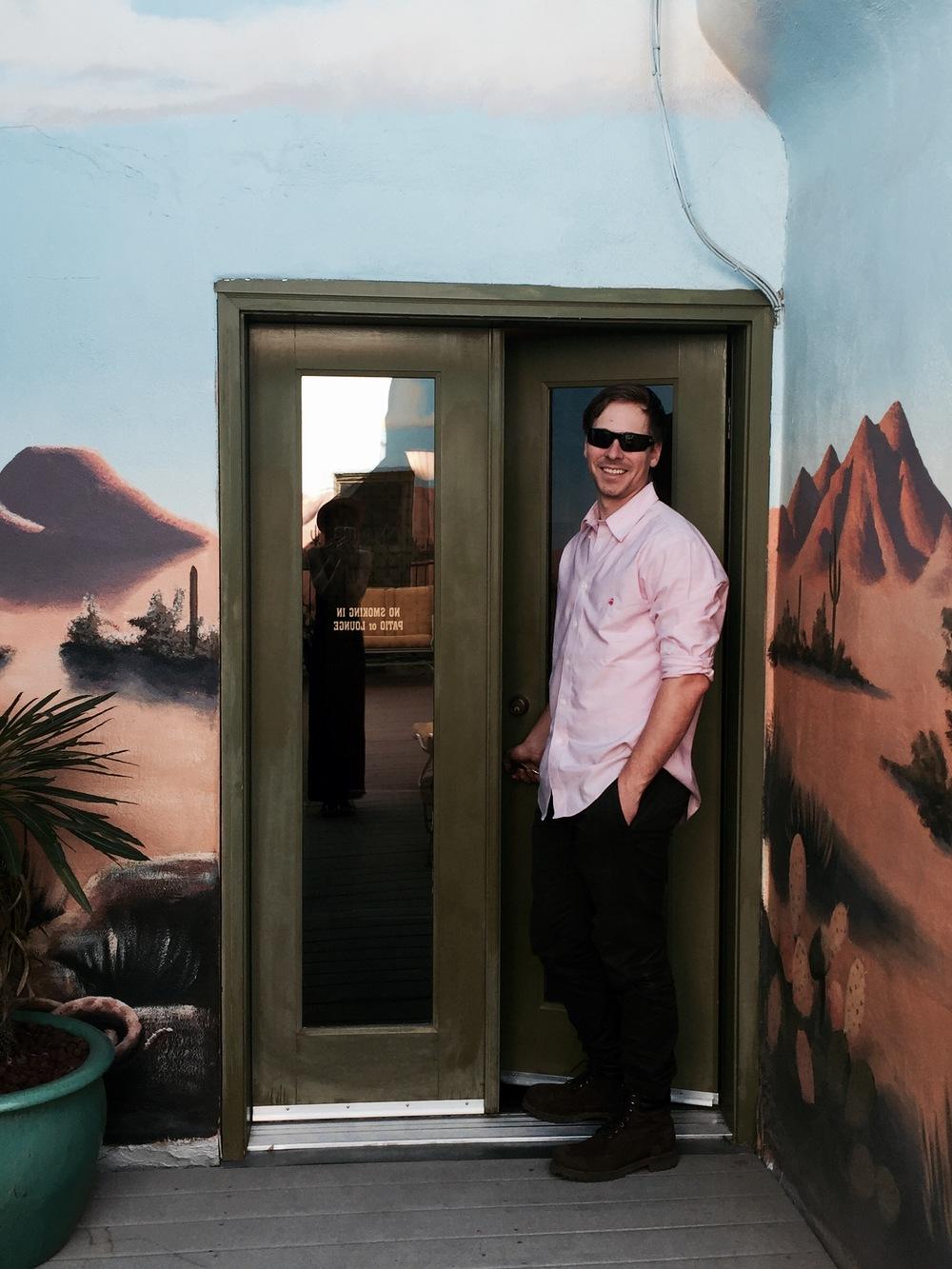 Cactus Garden view | Hotel Congress | Tucson, AZ