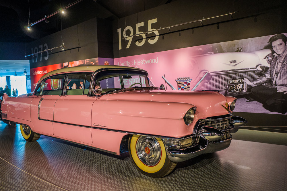 The Pink 1955 Cadillac Fleetwood