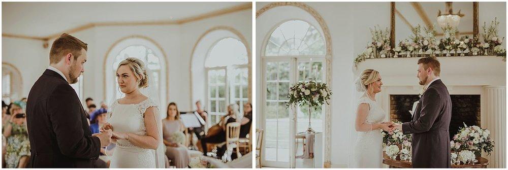 Northbrook Park wedding ceremony photos