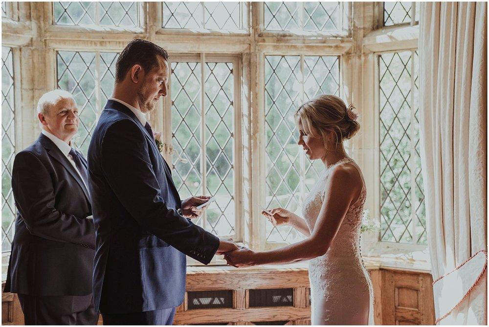 Smallfield Place Surrey wedding ceremony