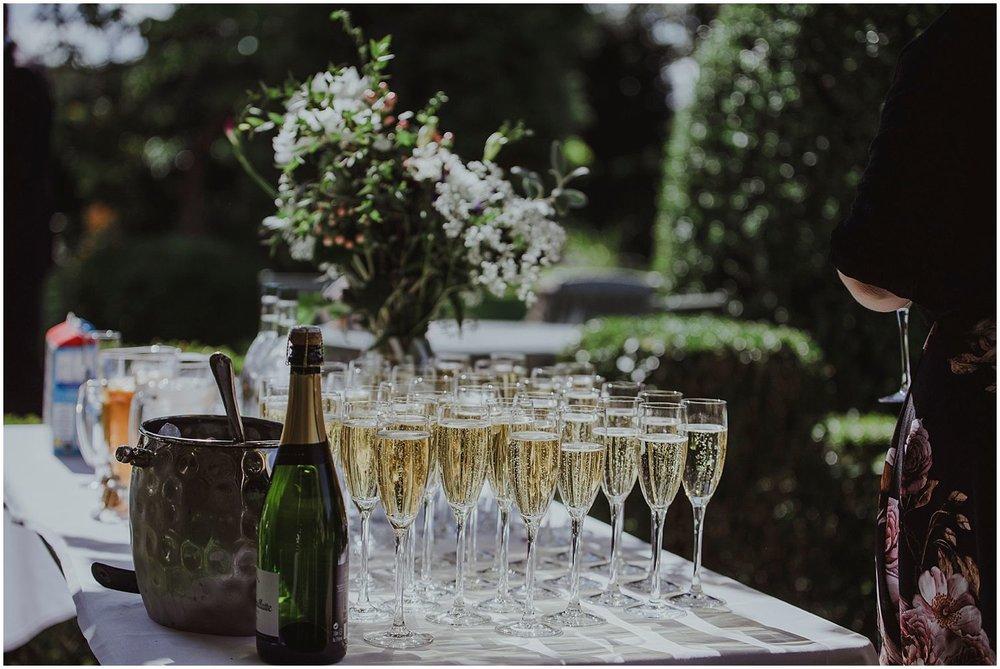 Wedding reception at Smallfield Place