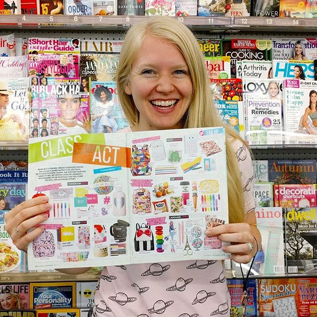 Two of my designs were featured in Girls' Life magazine this month! ✨ I am honored to see my stickers next to some of the brands I love the most. Stickers are such a fun way to spruce up your planner or notebooks for the school year 😊 Thank you @girlslifemag ❤️